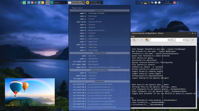 Mabox_command_palette