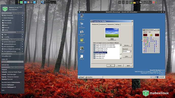 Mabox_VirtualBox